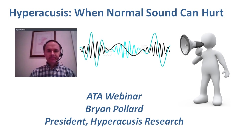 Hyperacusis Research Participates in ATA Webinar