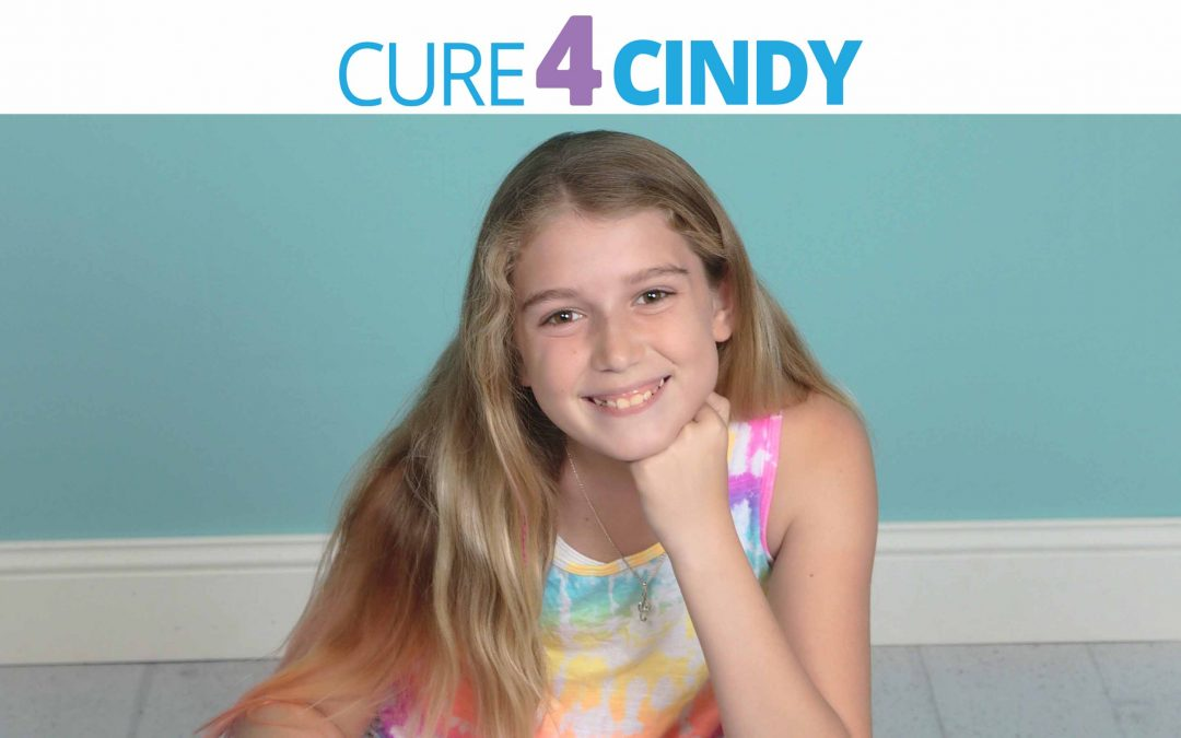 Please support our efforts to find a Cure4Cindy!